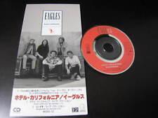 "Eagles Hotel California Live Japan 3 inch Mini CD Single 3"" CDS Hell Freezes"