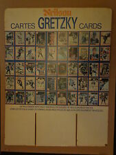 Wayne Gretzky Hockey Card Retail Cardboard Display 1982-83 Neilson 99 Candy Bar
