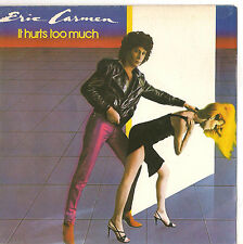 ERIC CARMEN - IT HURTS TOO MUCH -  SOLO COPERTINA - ONLY COVER -  EX+