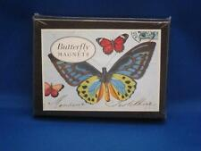 Cavallini & Co. Set of 24 Butterfly Magnets 2008 Vtg Images Brand New!