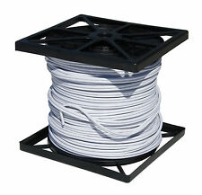 500FT CCTV CAMERA WIRE RG59 COAX/RS485/POWER PTZ DATA 18/4 SIAMESE CABLE White