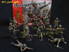 airfix 1/32 painted American paratroops WW2. professionally painted. 54mm