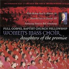 DAMAGED ARTWORK CD Bishop Paul S Morton: Daughters of the Promise Live