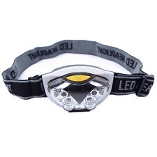 LED Head Lamp Torch Light Hands Flashlight With Headband Emergency Survival LW