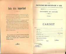RARE LIVRET NEUF PROTECTION DES ENFANTS POUR LES BIBERONS DANS LE CALVADOS 1910