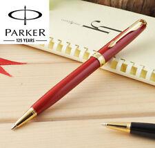 Parker Sonnet Ballpoint Pen Gold Clip Parker Ball point Pen Refill Business H4
