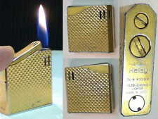 Briquet Ancien @ MARUMAN DL-6 @ Vintage gas Lighter Feuerzeug Accendino