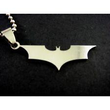 NEW DC SUPER HERO Batman Stainless Steel Chain Necklaces & Pendant Charm