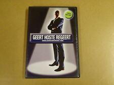 DVD / GEERT HOSTE - REGEERT - EINDEJAARSCONFERENCE 2008