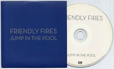 FRIENDLY FIRES Jump In The Pool 2009 UK 1-track promo test CD dark blue sleeve