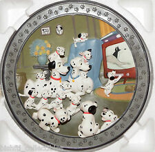 """Disney 101 Dalmatians """"Watch Out, Thunder"""" Limited Edition 3-D Plate 9898/15000"""