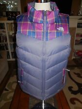 NWT THE NORTH FACE Women's Sheka 500 Down Fill Insulated Puffer Vest LARGE $140
