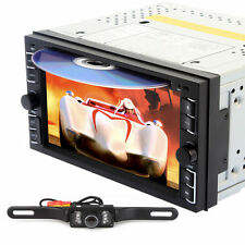 "6.2"" Touchscreen Double 2 Din In Dash Car Stereo Radio iPod CD DVD Player+ CAM"