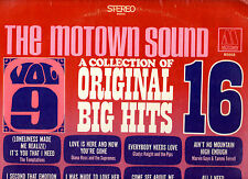 "RARE MOTOWN.COLLECTION OF 16 BIG HITS.VOL.9.U.S.ORIG ""STEREO"" LP+INN/SL.EX/EX"