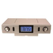 Küchenradio KCR 221 Radio Unterbauradio Tischradio Kurzzeitwecker silber NEU