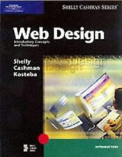 Web Design: Introductory Concepts and Techniques (Shelly Cashman (Paperback))