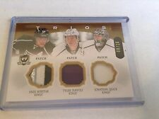 13-14 2013-14 THE CUP KOPITAR TOFFOLI QUICK TRIOS PATCH /10 LOS ANGELES KING