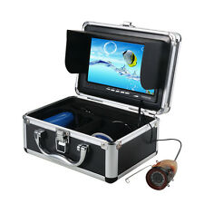 "Fish Finder 7""TFT LCD Color Monitor 1000TVL IR LED Underwater Video Camera Top!!"