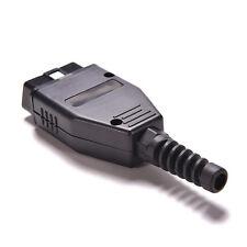 OBD2 Connector OBDII 16 Pin Adaptor OBD II Plug Connectors Male OBD 16PIN   TBMO
