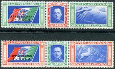 1933 Crociera Nord Atlantica I RECA - TRITTICI - 2 valori Nuovi MNH Regno S1509Q