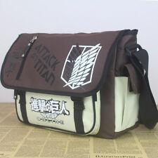 Anime Attack On Titan Messenger Bag 600D Waterproof School Bag Satchel Holdall