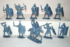 NEW!!! Roman Legionaries plastic 1/32 60mm toy soldiers. 9 foot + 1 mounted
