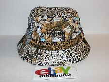 New Stussy Wildlife Bucket Hat Crusher cap camp safari khaki camo Size S / M