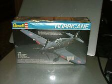 revell 1/72 4118 hawker hurricane vintage model aircraft kit 1983 factory sealed