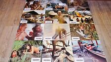 AMAZONIA ! Ruggero Deodato : jeu 12 photos cinema lobby cards fantastique