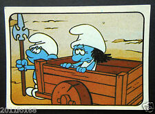 figurines cromos los pitufos cards figurine i puffi 26 panini 1982 the smurfs tv