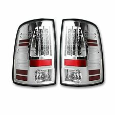 RECON 264236CL Dodge RAM 94-16 Clear-Red Tail Lights LED