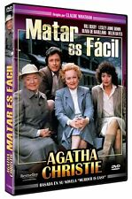 AGATHA CHRISTIE'S MARPLE Murder is Easy **Dvd R2** Bill Bixby, Lesley-Anne Down