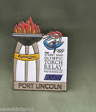 PORT  LINCOLN  2000 OLYMPIC AMP TORCH RELAY PIN