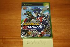 Sonic Riders (Xbox) NEW SEALED BLACK LABEL, Y-FOLD W/UPC, MINT, RARE!