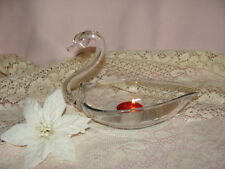 SWAN FIGURINE CANDY DISH ~ SOAP, OR CANDLE HOLDER