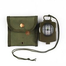 All in one vintage Military Army Geology Compass for Outdoor Hiking Camping