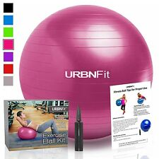 URBNFit Exercise Gym Ball (Multiple Sizes And Colors) For Stability & Yoga - ...