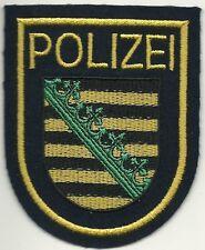 Polizei WSP SACHSEN  Stoffabzeichen Patch JACKE 90er Jahre WASSERSCHUTZPOLIZEI !
