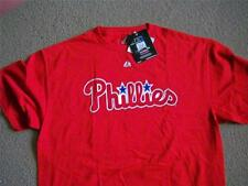 PHILA. PHILLIES CLIFF LEE T-SHIRT MADE BY MAJESTIC SIZES SM, MED, XL,XXL NWT