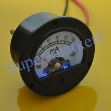 100mA DC Panel Meter With Blue Back Light for 300B 211 845 50 Tube Amplifier 52