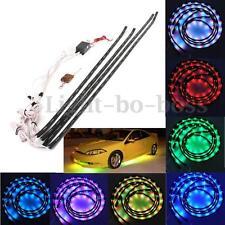 252 LED RGB Strip Unterbodenbeleuchtung Farbwelchsel Neon Licht 2x90cm 2x120cm