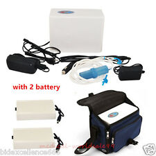 CE Portable Oxygen Concentrator Generator Home/Travel Car +2 battery + Case  Hot