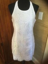 Lilly Pulitzer Grayes Resort White Dotted Blossom Eyelet Dress Size 10 $228 NWT