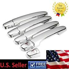 Mirror Chrome  Door Handle Cover Trims 9pc For 2007-2011 Toyota Camry Highlander