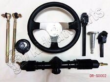 150 cc GO KART GO CART Steering Wheel Assembly set Tie Rod Rack Adjustable Shaft