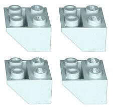 Missing Lego Brick 3660 OldGray x 4 Slope Brick 45 2 x 2 Inverted