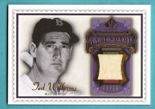 2009 SP Legendary Cuts Ted Williams Game Jersey 02/15 Red Sox