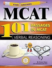 Examkrackers Ser.: Examkrackers 101 Passages in MCAT Verbal Reasoning by...