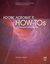 Adobe Acrobat 9 How-Tos: 125 Essential Techniques (How-Tos)-ExLibrary