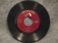"""45 RPM 7"""" Record Morton Gould Jungle Drums RCA Victor Records Promo ERA 271 VG+"""